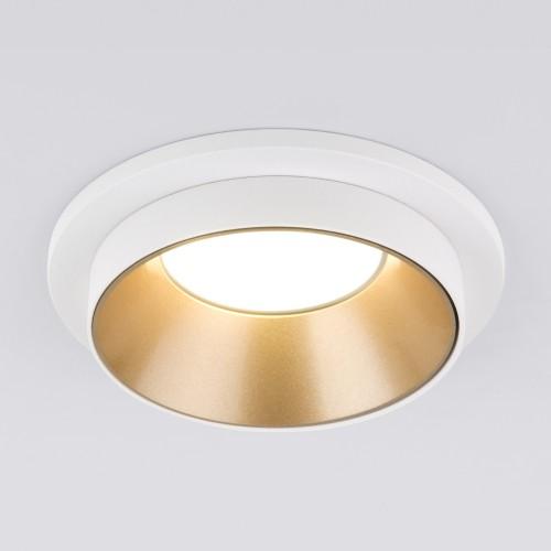 Встраиваемый точечный светильник 113 MR16 золото/белый