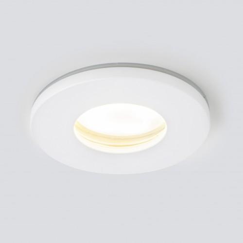 Влагозащищенный точечный светильник 125 MR16 белый матовый