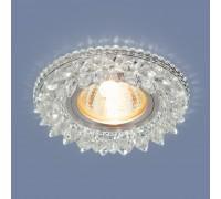 Встраиваемый точечный светильник с LED подсветкой 2212 MR16 CL прозрачный