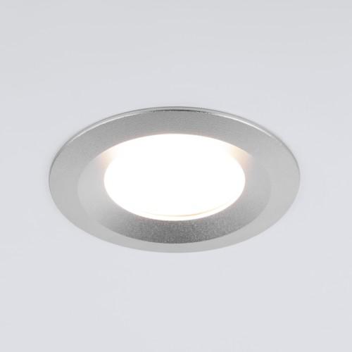Встраиваемый точечный светильник 110 MR16 серебро