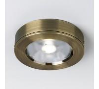 Накладной потолочный светодиодный светильник Бронза DLS030