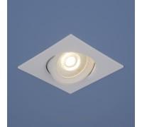 Встраиваемый точечный светодиодный светильник 9915 LED 6W WH белый