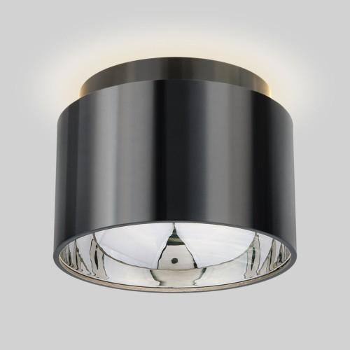 Накладной потолочный светильник 1069 GX53 Черный жемчуг