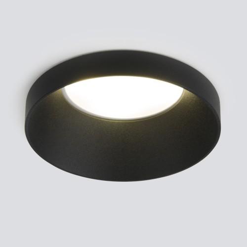 Встраиваемый точечный светодиодный светильник 111 MR16 черный