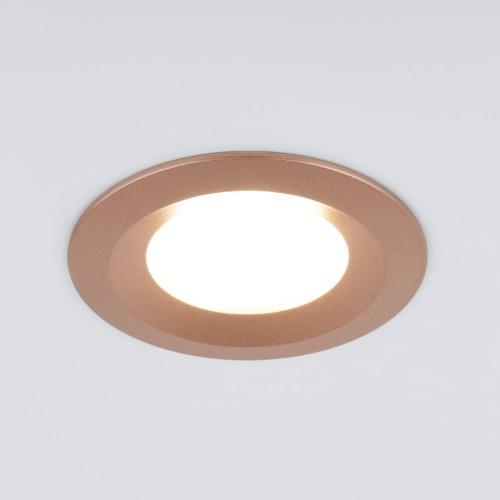 Встраиваемый точечный светильник 110 MR16 золотой