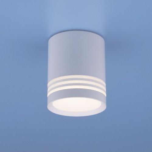 Накладной потолочный  светодиодный светильник DLR032 6W 4200K 3200 белый
