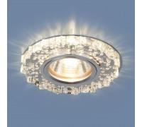 Встраиваемый точечный светильник с LED подсветкой 2202 MR16 CL прозрачный