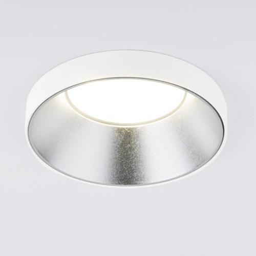 Встраиваемый точечный светильник 112 MR16 серебро/белый