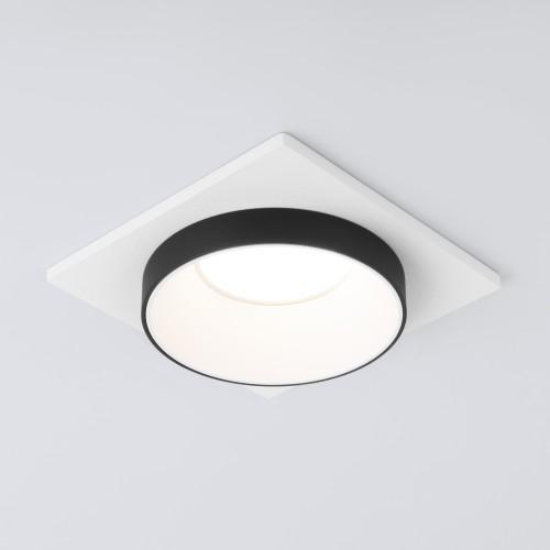 Встраиваемый точечный светильник 116 MR16 белый/черный