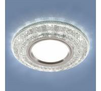 Встраиваемый точечный светильник со светодиодной подсветкой 2160 MR16 CL прозрачный