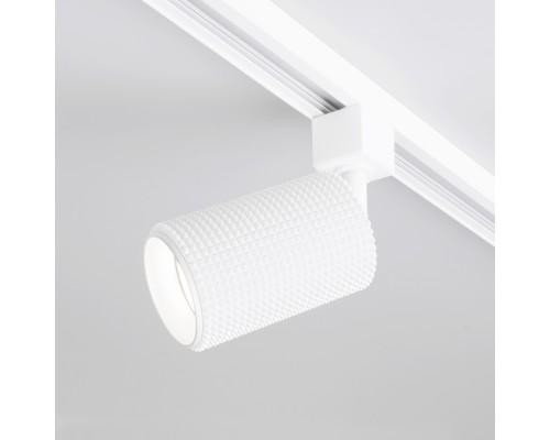 Трековый светильник для однофазного шинопровода Spike GU10 белый MRL 1011