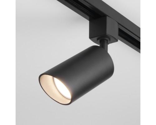 Трековый светильник для однофазного шинопровода Splay GU10 черный MRL 1006