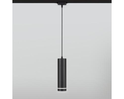 Трековый светодиодный светильник для однофазного шинопровода 50163/1 LED черный 50163/1 LED черный