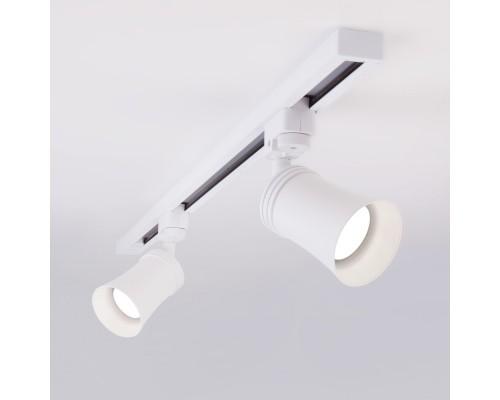 Трековый светильник для однофазного шинопровода Vetro GU10 Белый MRL 1001