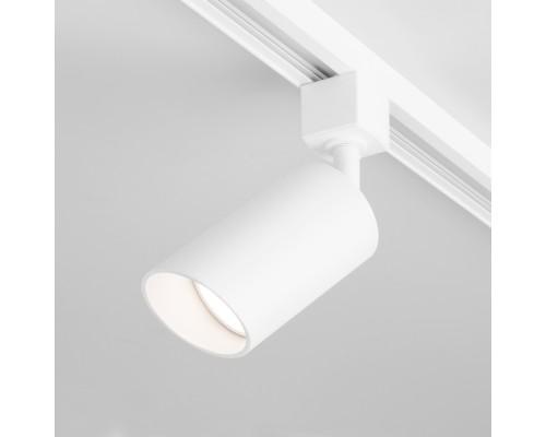 Трековый светильник для однофазного шинопровода Splay GU10 белый MRL 1006