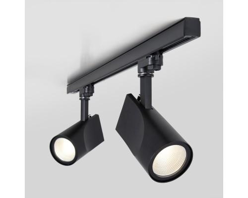 Трековый светодиодный светильник для трехфазного шинопровода Vista Черный 32W 4200K LTB16
