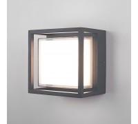 Уличный настенный светодиодный светильник Серый 1533 TECHNO LED