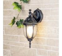 Уличный настенный светильник GL 1002D черный