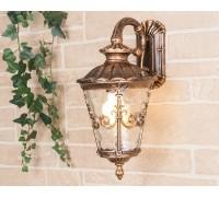Diadema D черное золото уличный настенный светильник GLYF-8046D