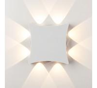 Уличный настенный светодиодный светильник Белый 1631 TECHNO LED